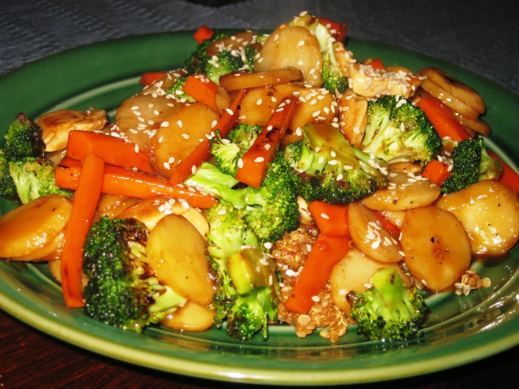 Teriyaki Stirfry