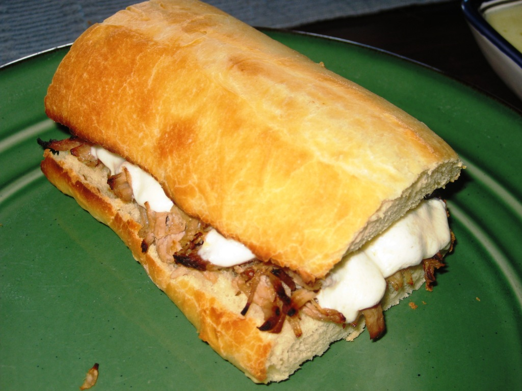 Mojo Pork Sandwich